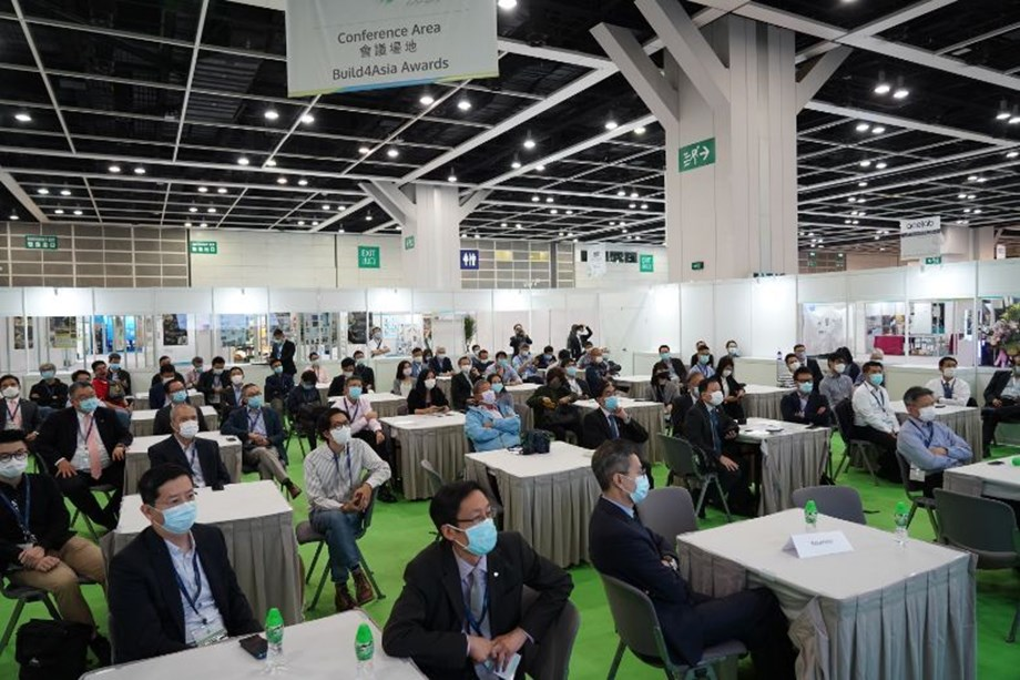 Organiser, Informa, and host venue HKCEC observed now-standard precautionary measures, including seminar spaces configured with two- and four-seat maximums.