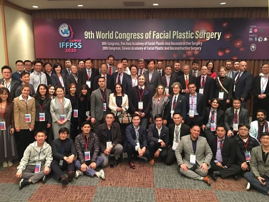 Taipei hosted the 9th World Congress of Facial Plastic Surgery in February, with the congress president expressing his appreciation for the efforts of Taiwan authorities and event organisers in coping with COVID-19.