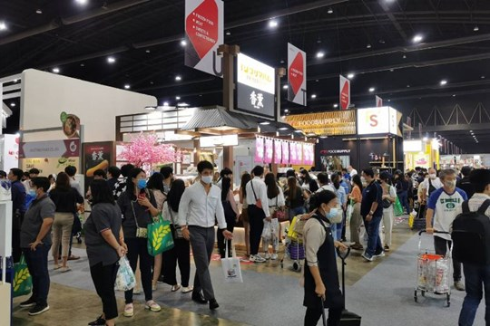 THAIFEX–Anuga Asia 2020 opens to smaller crowds