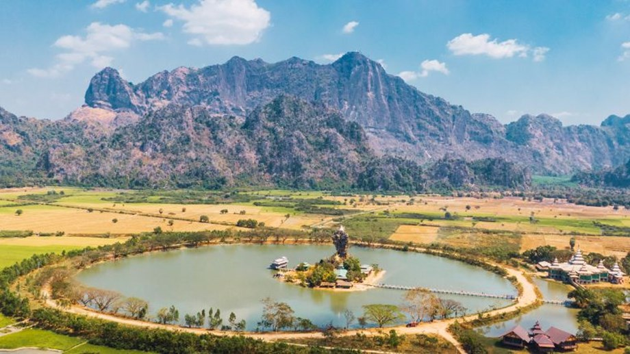 Centra by Centara Hotel Thiri Hpa-An is a three-hour drive from Thailand's western border town of Mae Sot.