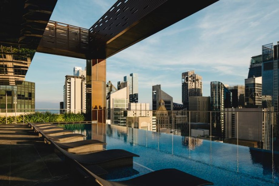The Clan Hotel Singapore_Sky Pool_Day