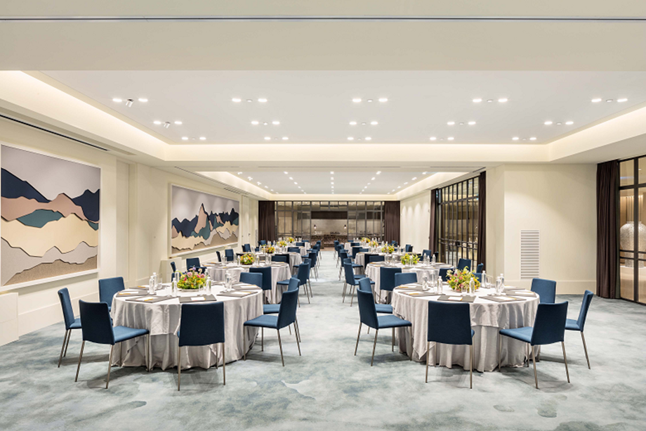 Andaz Seoul Gangnam showcased its event spaces during a recent virtual site inspection.
