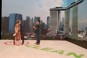 Inside Marina Bay Sands' new hybrid event studio