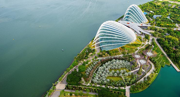 for experiential events with the wow factor gardens by the bay provides the inspiration you need with its 101 hectares of lush garden artistry and