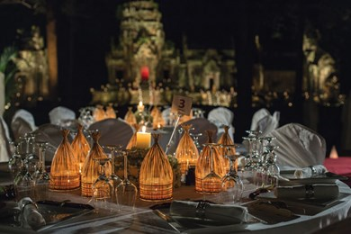Gala dinner at Prasat Thommanon