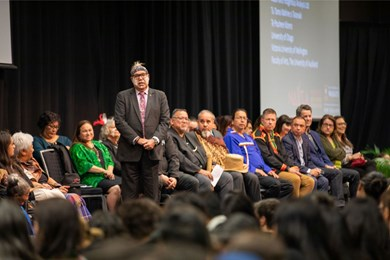 The Native American & Indigenous Studies Association (NAISA) Conference held in Waikato attracted a record attendance of 1,872 registrations. (Tourism New Zealand)
