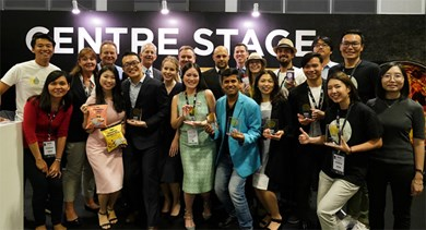 Winners of the Asia Food Innovation Awards by FoodBev Media.