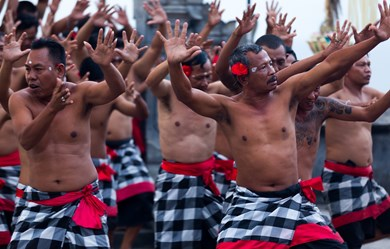 Alila Villas Uluwatu is offering guests the full Bali experience with a weekly kecak fire dance performance.