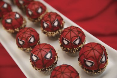 Spiderman desserts at Celebration of Sales Excellence 2016.