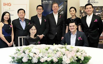 IHG and Europe Trading Investment Company Limited have signed a management agreement for Hotel Indigo Saigon The City.