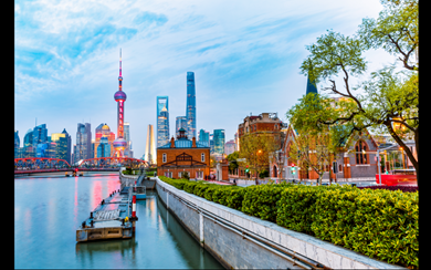 Shanghai is the most popular city for business travel in Asia. (GettyImages/zhaojiankang)