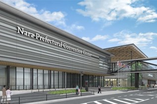 Nara Prefectural Convention Center opens in Japan