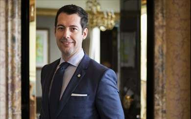 Xavi Gonzalez, general manager, The St. Regis Singapore